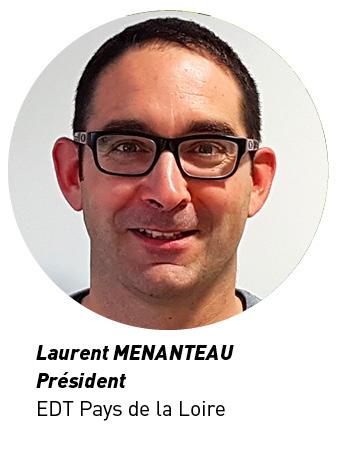 Laurent MENANTEAU Président EDT Pays de la Loire