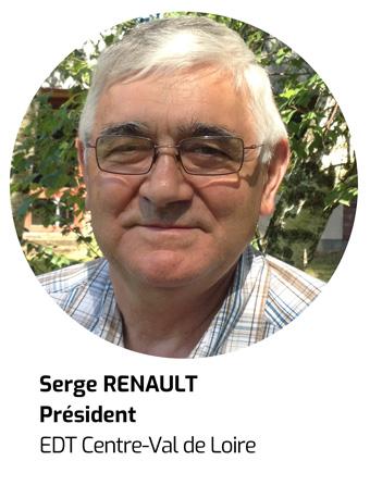 Serge Renault Président de EDT Centre-Val de Loire